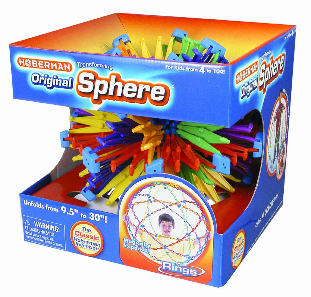 Hoberman: Sphere-- Expanding  Universe Glow John N Hansen Co Inc HS119 4247
