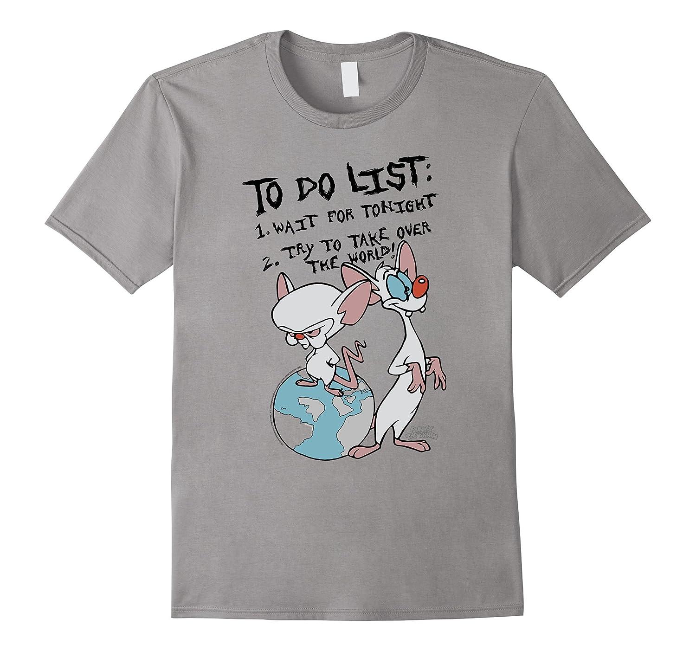11th Birthday Gift Idea 11 Year Old Boy Girl Shirt 2005 Art Animaniacs To Do List Pinky Brain