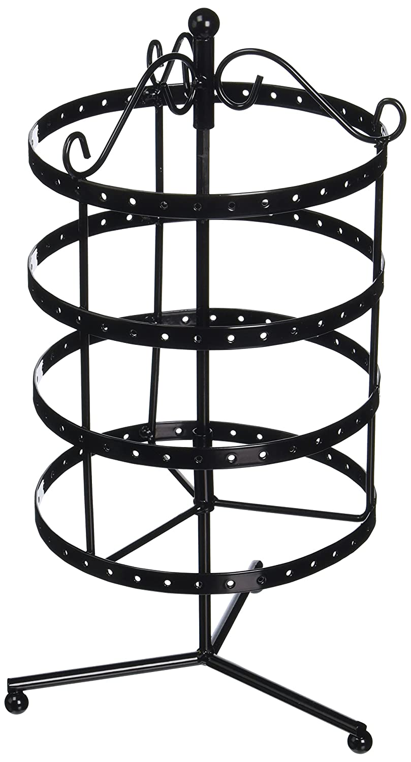 Darice Metal Jewelry Display Spinner 6.5X6.3X8.9 Black 229292