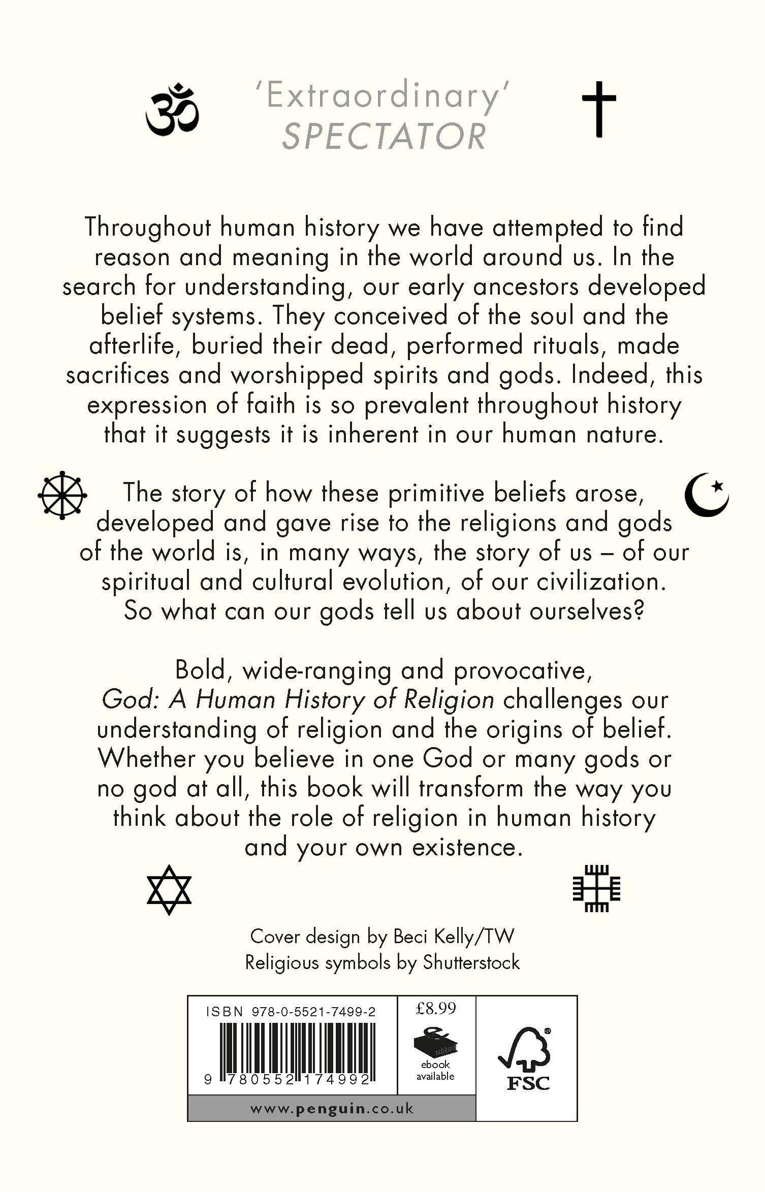 God A Human History Amazon Reza Aslan 9780552174992 Books