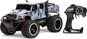 Jada Toys Fast & Furious Hobb'S Mxt Elite Off-Road RC Car, 1: 12 Scale, 2.4Ghz Remote Control, Blue Camo, Ready to Run