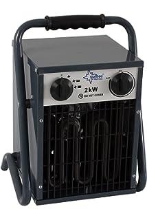 Suntec Wellness Heat Cannon 2000 Calefactor Industrial, Negro