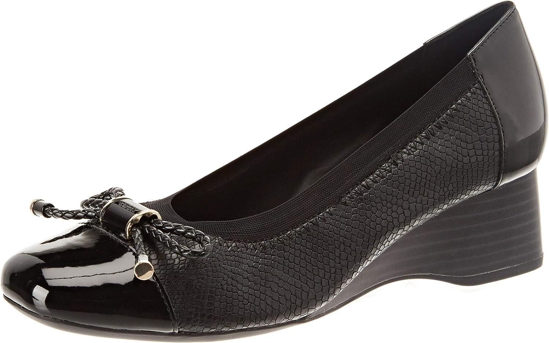 Geox D Audalya A, Zapatos de Tacón para Mujer
