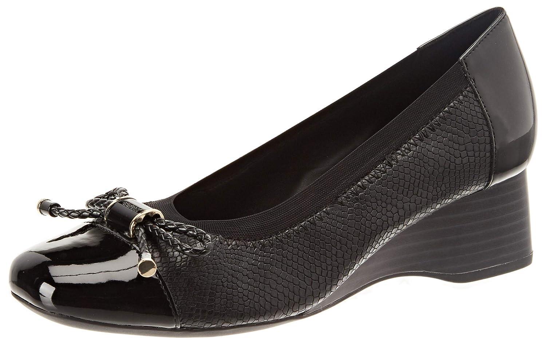 TALLA 37 EU. Geox D Audalya A, Zapatos de Tacón para Mujer