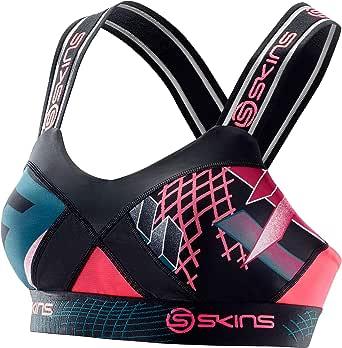 SKINS Women's DNAmic Compression Speed Crop Sports Bra
