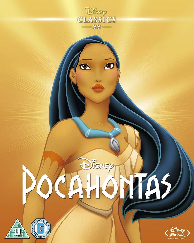 Pocahontas 1995 Limited Edition Artwork Sleeve Blu Ray Region Free Amazon Co Uk Dvd Blu Ray