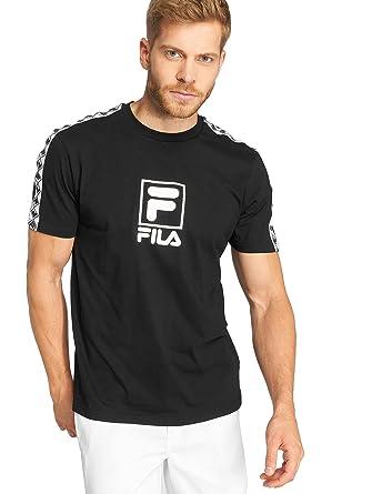 Fila Herren Oberteile/T-Shirt Urban Line Rais Schwarz L ...