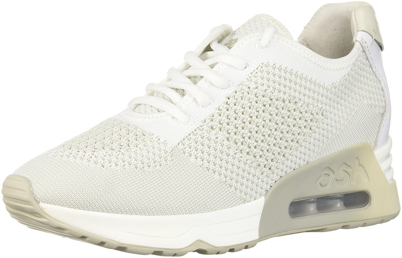 Ash Women's AS-Lucky Sneaker B0757DVF8C 39 M EU (9 US)|White/Marble