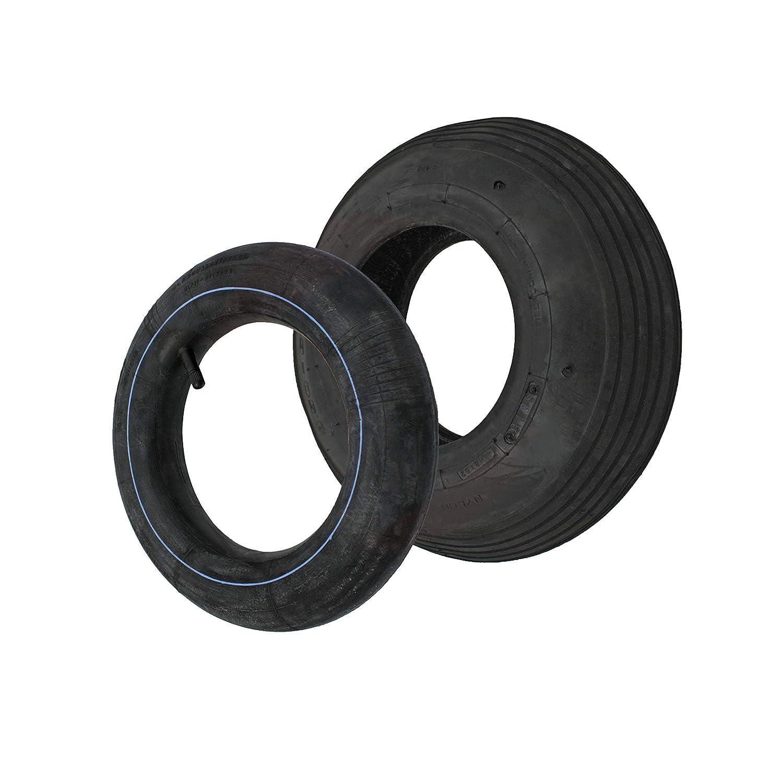 Reifen/Decke + Schlauch 3.50-6 332 x 94 mm Sackkarrenrä der Sackkarre STRICKER-ROLLEN