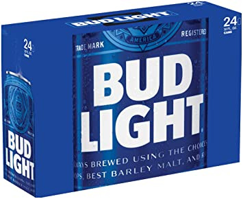 Bud Light, 24 Pk, 12 Oz Cans, 4.2% ABV