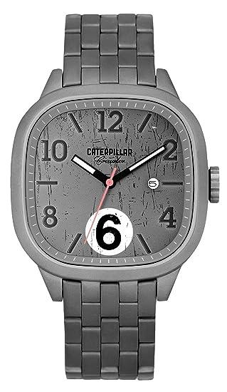 Caterpillar CR.141.11.131 - Reloj de pulsera hombre, acero inoxidable, color gris: Amazon.es: Relojes