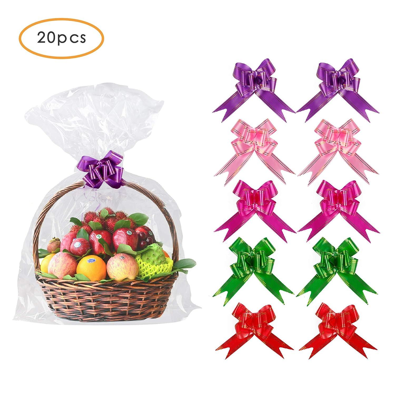 Amazon.com: 20 unidades de 30 x 44 pulgadas bolsas de cesta ...