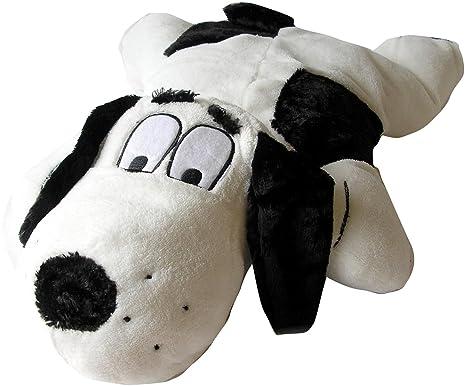 Snuggle Safe Cojín «Bonzo el Perro» con Bolsillo Especial para cojín calentable al microondas