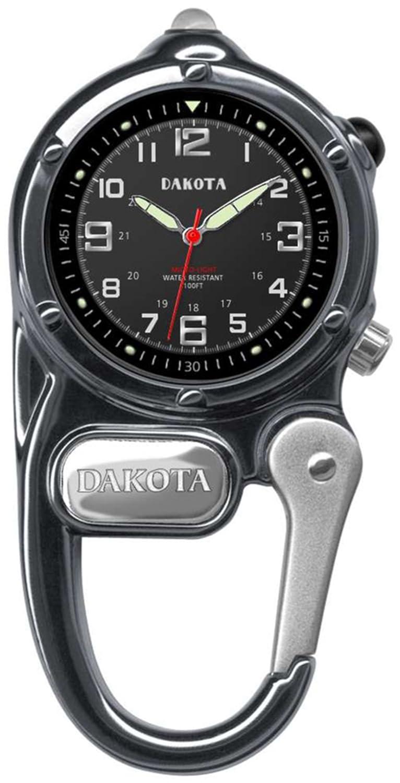 Gunmetal Dakota Watch Company Mini Clip Microlight Watch