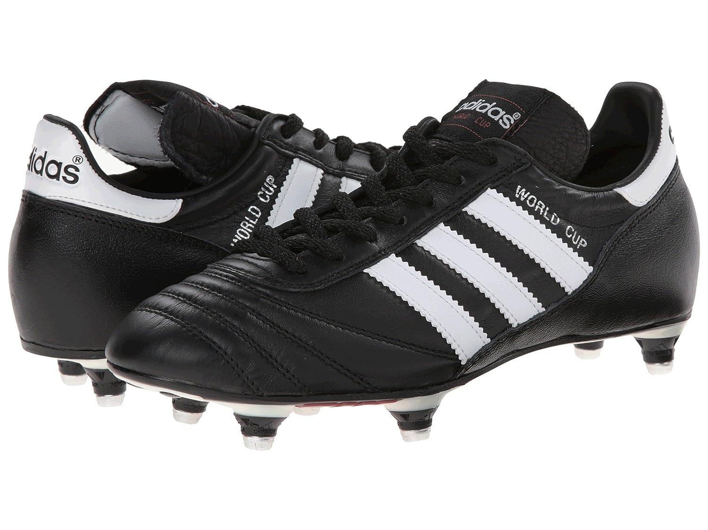 メンズサッカーシューズ靴 B07BQFCHXM Black/White D Cup Medium (28cm) World adidas 10 (アディダス)