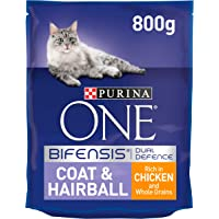Purina One Coat & Hairball Cat Chicken& Whole Grains, 800 gm