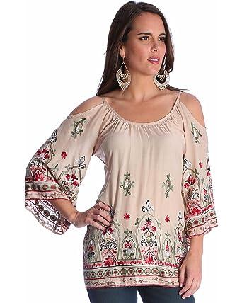 e438de5ce957 Wrangler Womens Western Fashion Shirt at Amazon Women's Clothing store: