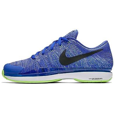 916834 Nike Zoom Homme Tennis Flyknit Chaussures Bleu Vapor De 403 kn0P8wOX