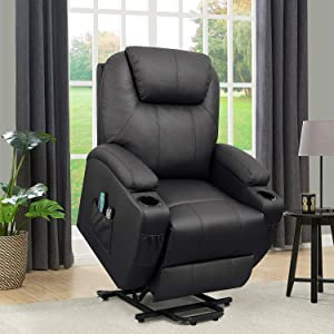 Flamaker Power Lift Recliner Chair with Massage and Heating