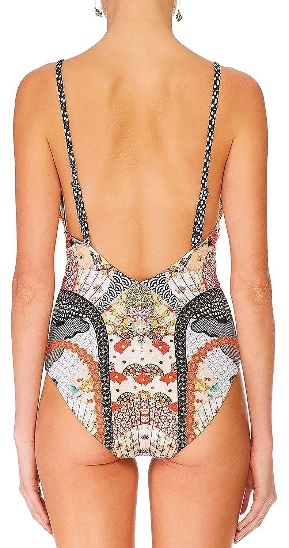 Camilla Womens Vintage Vixen Low Back Bodysuit