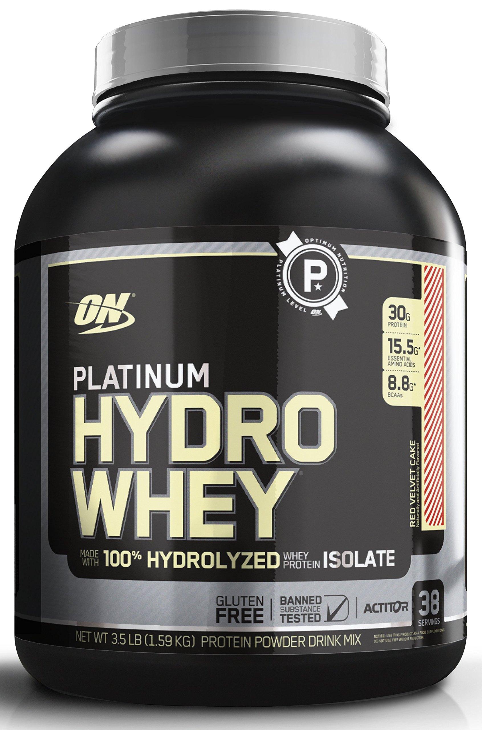 Amazon.com: Optimum Nutrition Platinum Hydro Builder, Chocolate Shake, 20 Servings: Health