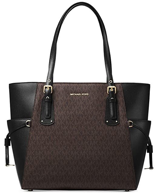 Image Unavailable. Image not available for. Color  Michael Kors Women s Jet  Set Travel Small Logo Tote ... 637938289fe
