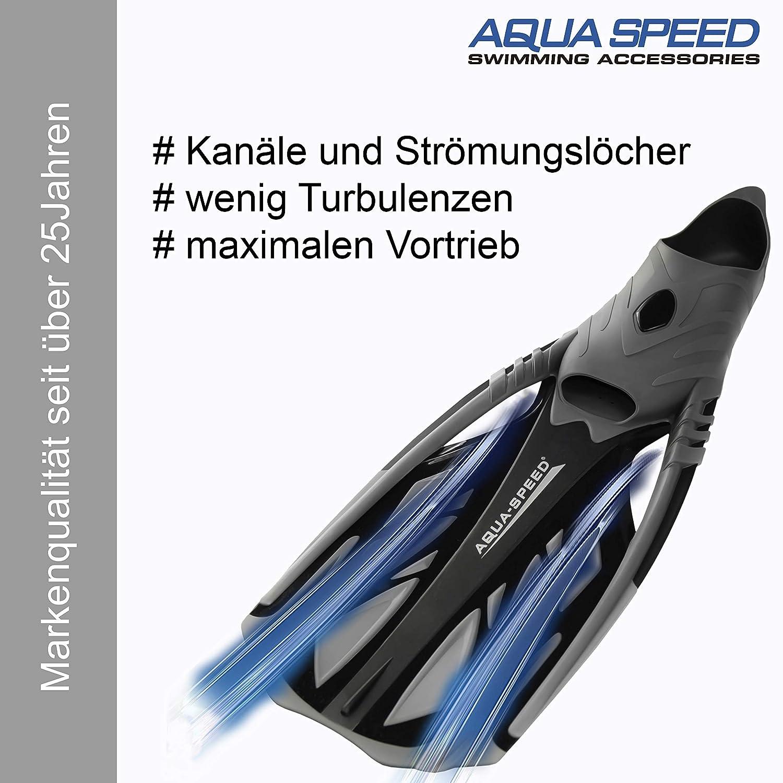 Flossen Schnorcheln oder Schwimmen AGUA 39//40 GELB
