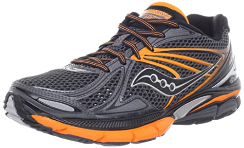 cd6b550b Saucony Men's Hurricane 15 Running Shoe, Black/Orange, 8.5 M US: Buy ...