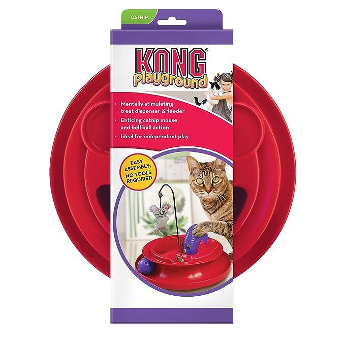 Kong gato Parque infantil gato juguete: Amazon.es: Productos para mascotas