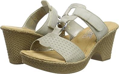 Rieker 66055 90 Schuhe Damen Clogs Pantoletten | eBay