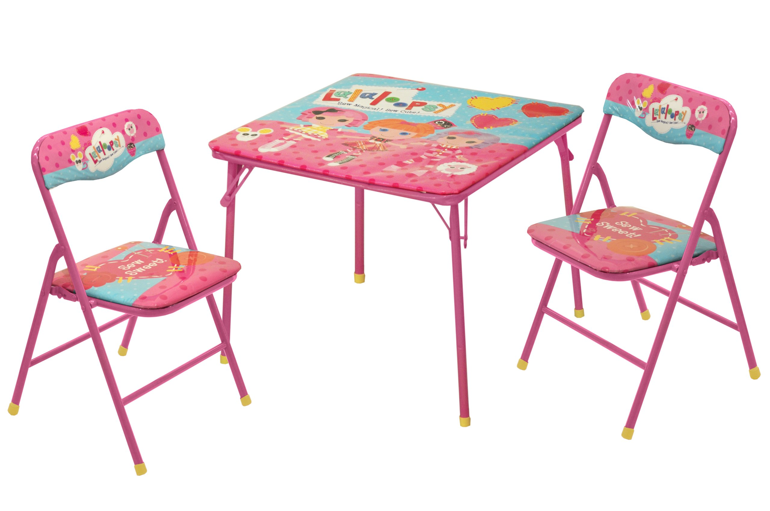 Lalaloopsy Square Table and Chair Set, 3-Pack