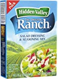 Hidden Valley Dry Original Ranch Dressing, 4 ct
