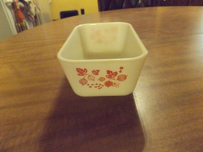 Pyrex Pink Gooseberry (#502) Refrigerator Dish (1.5 Pint) - No Lid
