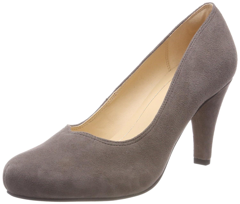 Clarks Dalia Rose, Zapatos de Tacón para Mujer 38 EU|Gris (Taupe Suede)