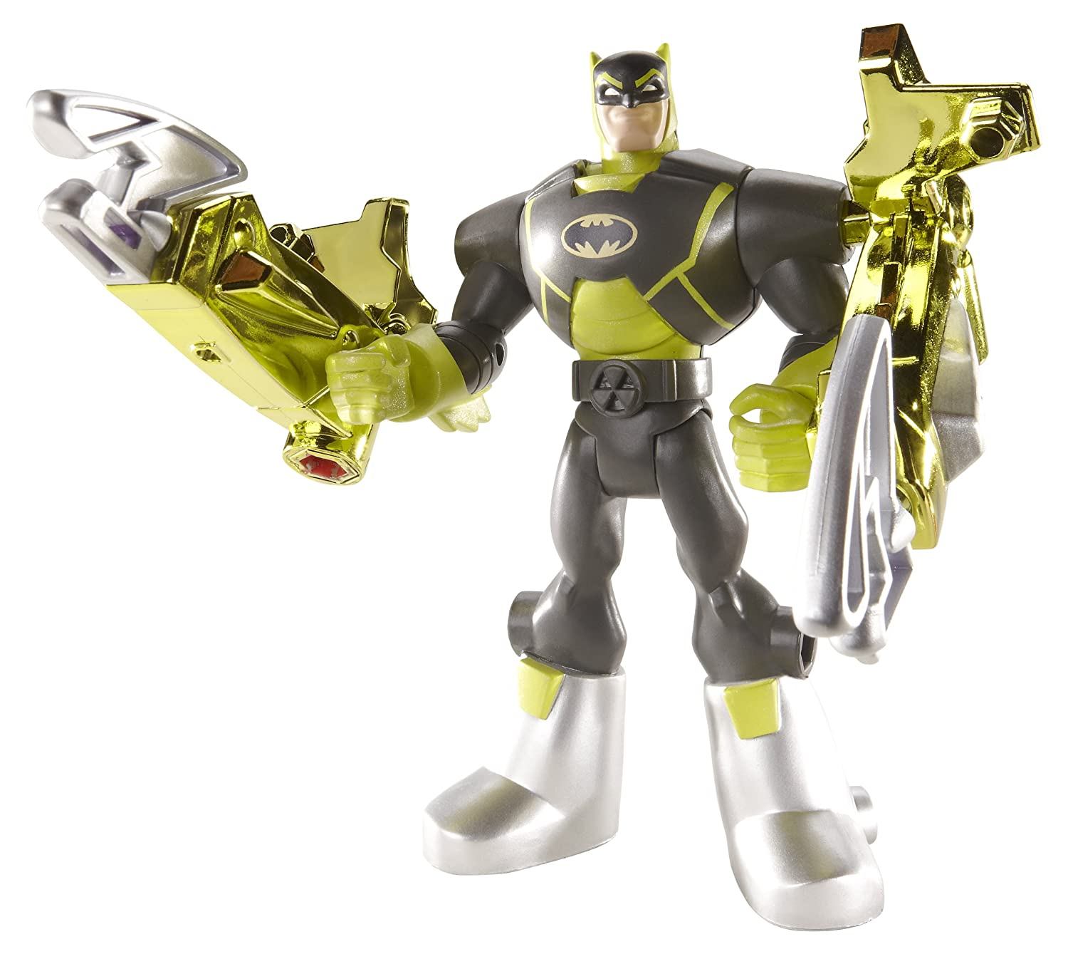 Batman: The Brave and the Bold Deluxe Battle Claw Batman Figure by Mattel