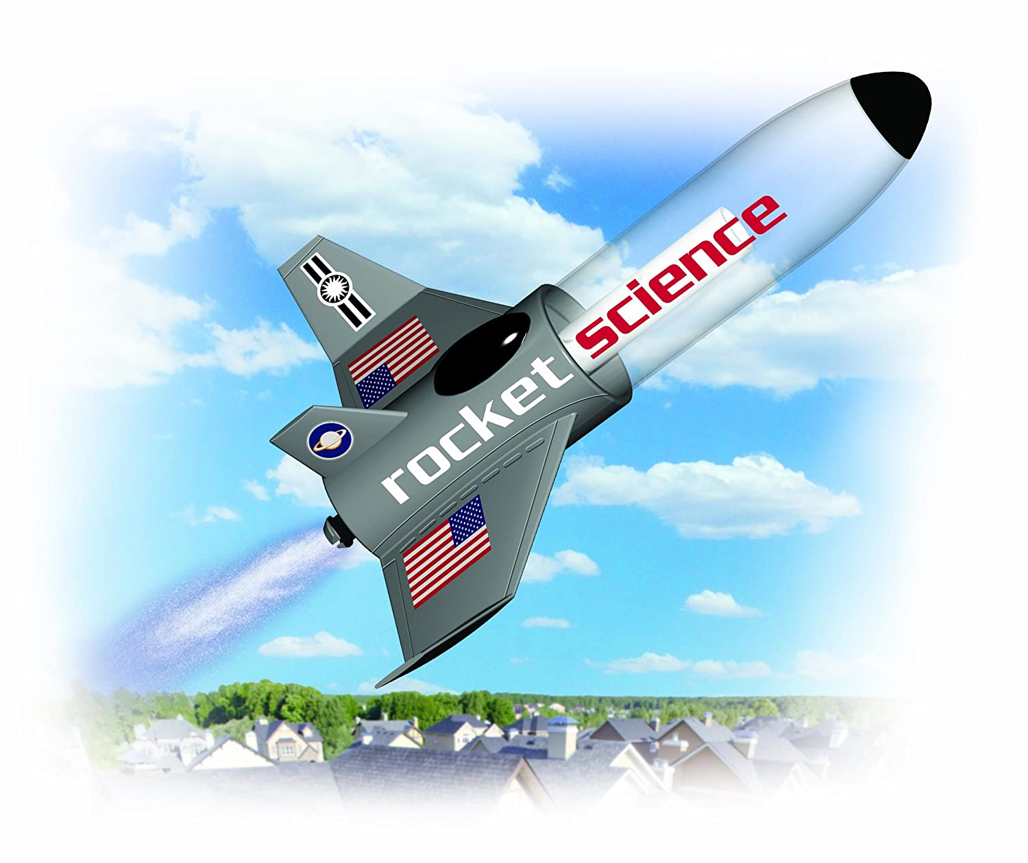 amazon com smithsonian science activities rocket science kit