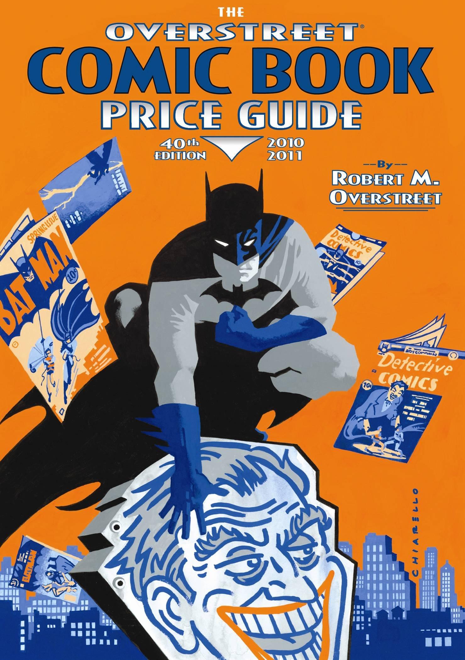 the overstreet comic book price guide 40th edition robert m rh amazon com Overstreet Price Guide 2017 Overstreet 43 Hero