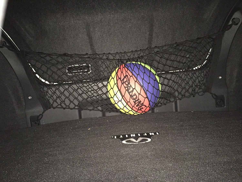 Envelope Style Trunk Cargo Net Infiniti M35 2006 07 08 09 2010 M37 2011 12 2013 M45 2003 04 05 06 07 08 09 2010 M56 2011 12 2013