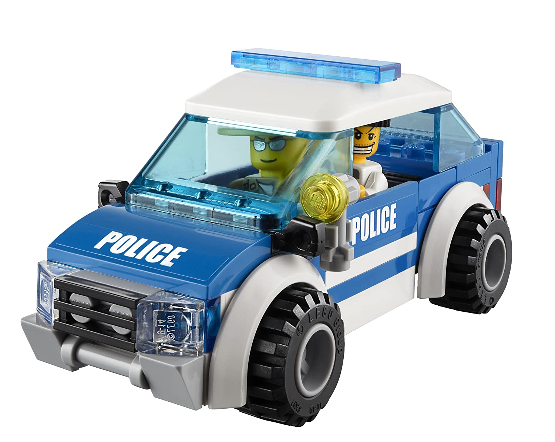 amazoncom lego city police patrol car 4436 toys games
