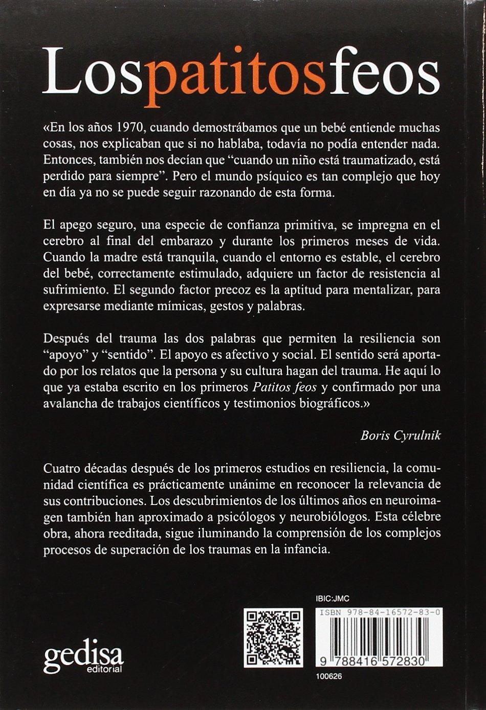 Patitos feos,Los Nueva edición PSICOLOGÍA / RESILIENCIA: Amazon.es: Cyrulnik, Boris, Fernández Aúz, Tomás: Libros