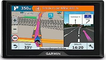 Garmin Drive 61 Lmt S Ce Navigationsgerät Lebenslang Kartenupdates Verkehrsinfos Sicherheitspaket 6 Zoll 15 2cm Touchdisplay Schwarz Navigation