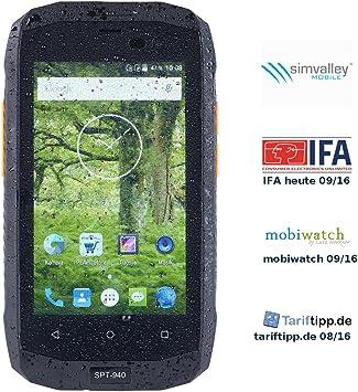 Simvalley &apos Mobile teléfono móvil: Dual SIM de Exterior de ...