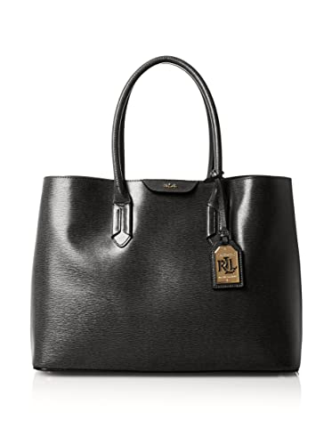 04c45d95a2 Ralph Lauren Tate City Tote Handbag In Black - RRP £280  Amazon.co.uk   Shoes   Bags