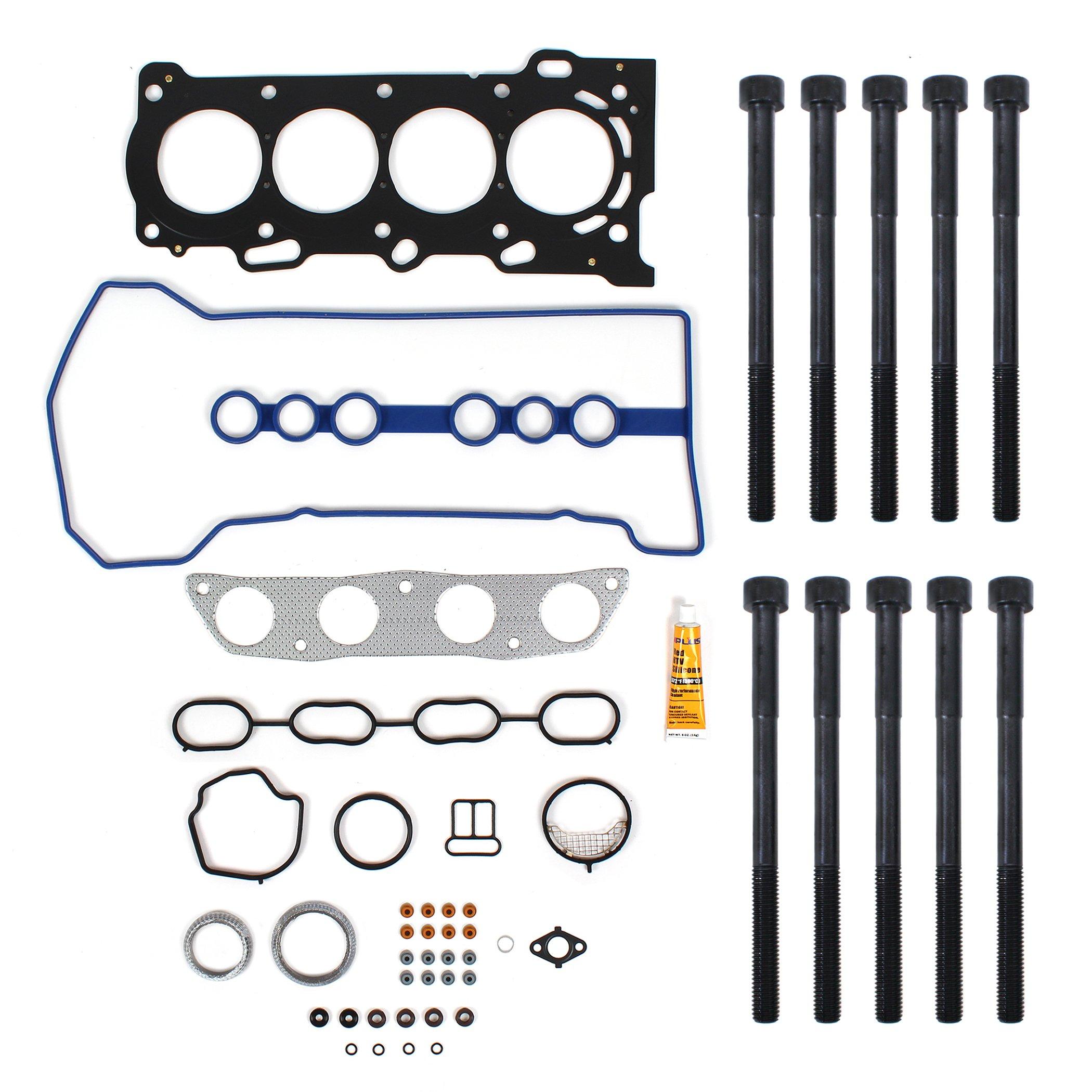 New TS2615803HB MLS Cylinder Head Gasket Set & Head Bolt Kit for 2000-08 Toyota / Pontiac 1.8L 1ZZFE 1ZZ-FE engine