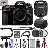 Nikon D7500 20.9MP 4K DSLR Camera w/Nikon 18-55mm VR Lens + 32GB - 25PC Kit