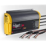 ProMariner 43021 Battery Charger Prosport 20 Amp - 3 Bank, black/yellow