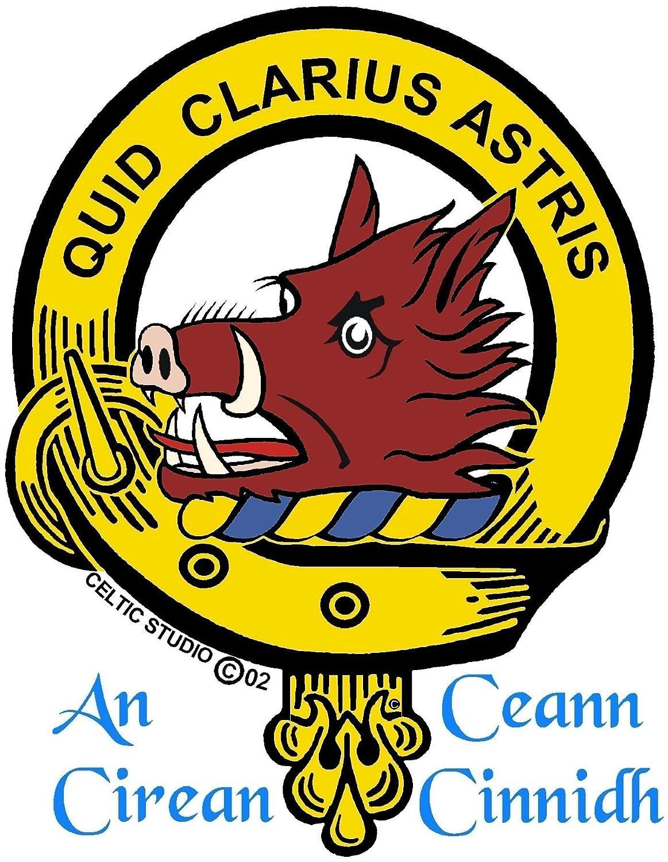 Baillie Scottish Clan Crest Sgian Dubh