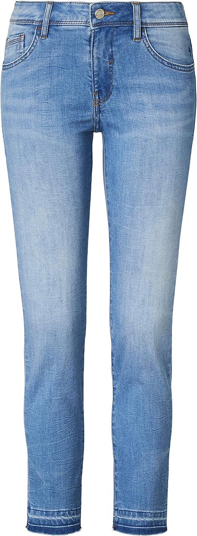 Paddocks 7/8 Jeans mit aufgetrenntem Saumen Luca Bleached Blue
