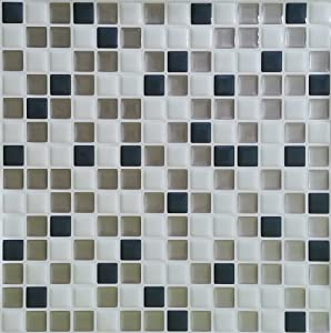 "Peel and Impress - Easy DIY Peel and Stick Adhesive Backsplash Tiles, 24018 White Steels 10""x 10"" (4 Tiles)"