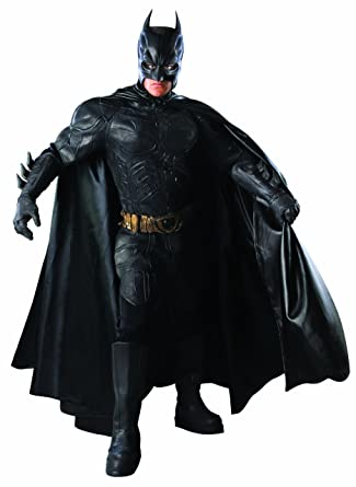 Amazon.com Rubieu0027s Batman The Dark Knight Deluxe Grand Heritage Collection Costume Clothing  sc 1 st  Amazon.com & Amazon.com: Rubieu0027s Batman: The Dark Knight Deluxe Grand Heritage ...